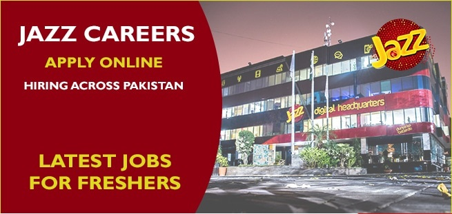 Jazz Careers Jobs 2020 – Latest Jobs in Mobilink