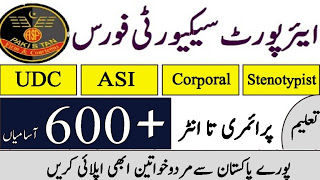 ASF jobs 2020 | Airport Security Force ASF Jobs July 2020