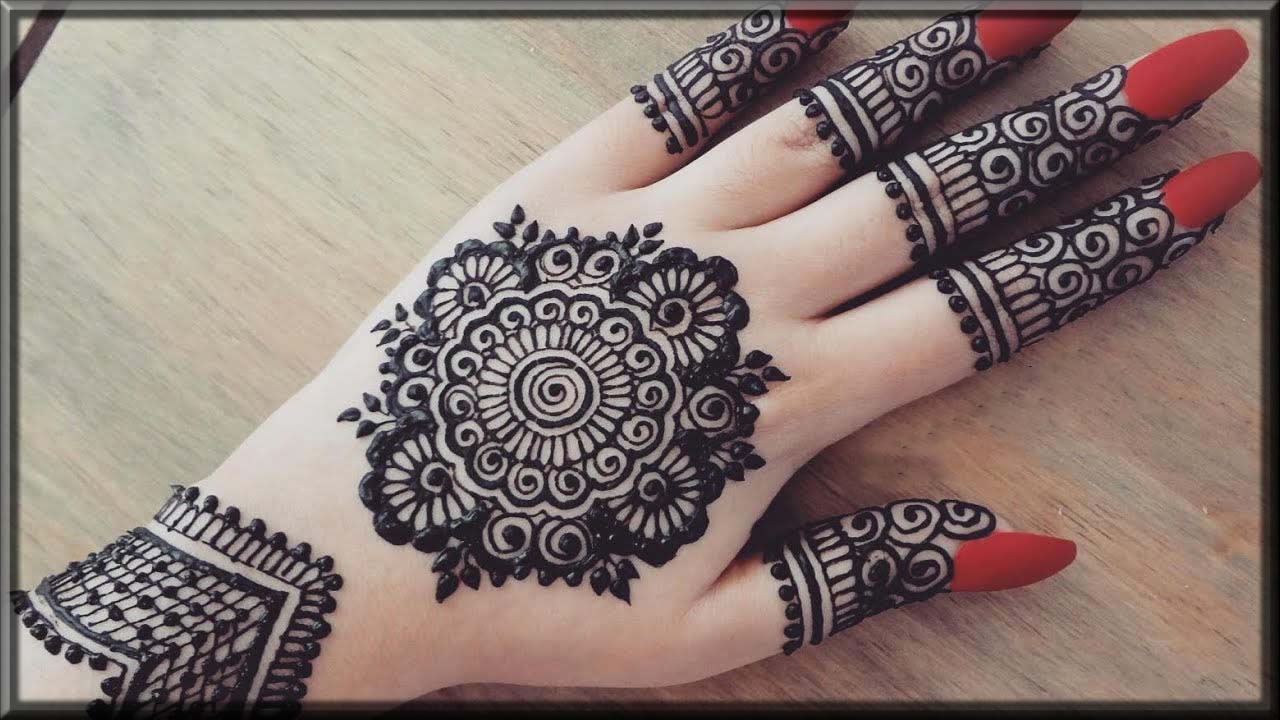 Tiki-Mehndi-Design